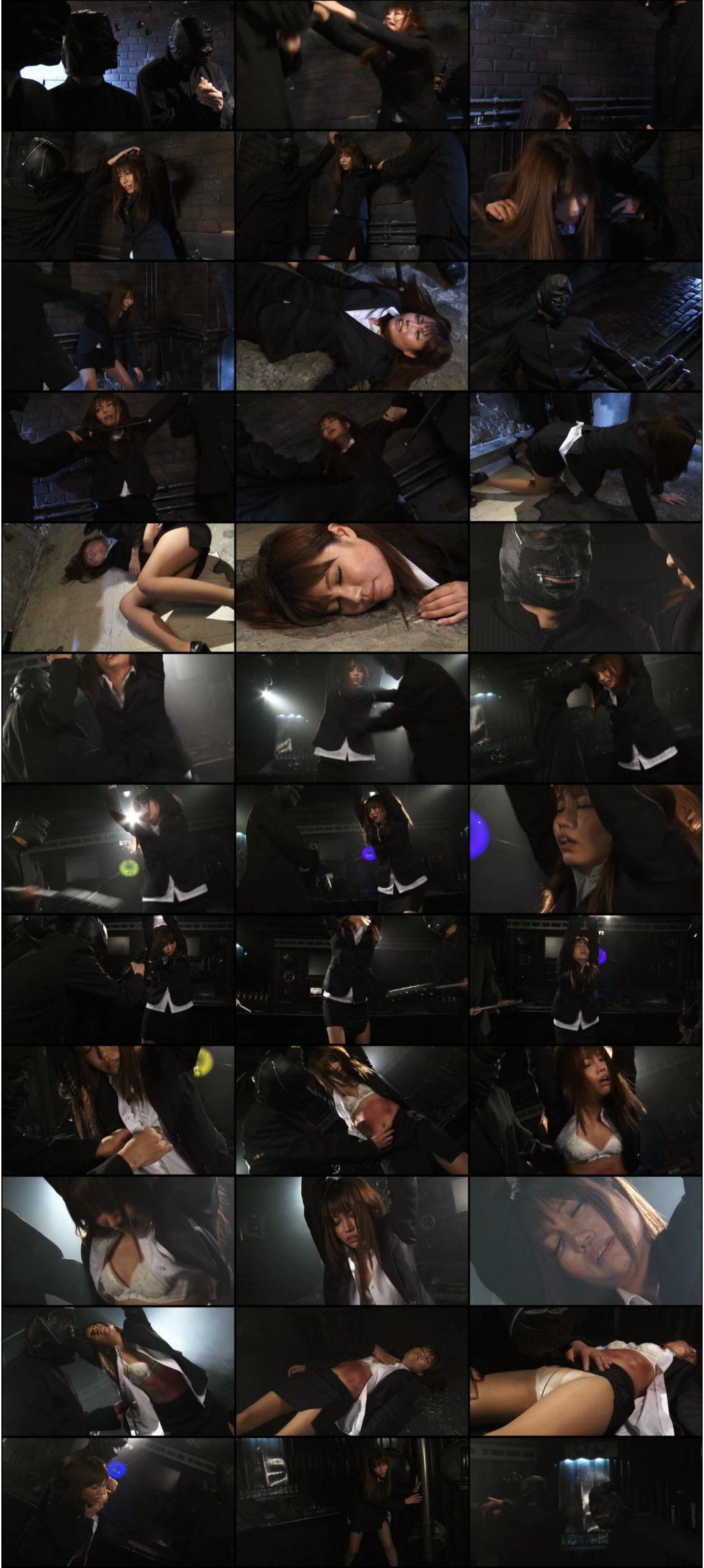 [GGTB-28] ヒロインボディーブロー ~女捜査官・雨平夏希~ コスチューム  Sentai / Anime / Game  Police / Investigator 大見はるか ギガターボ