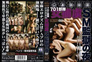 [FAD-1437] 701部隊女体拷問室 女捕虜SM監獄の夜 Riku Shiina  Miyuki Mashima FA video publishing products  Hina Morino 真島みゆき