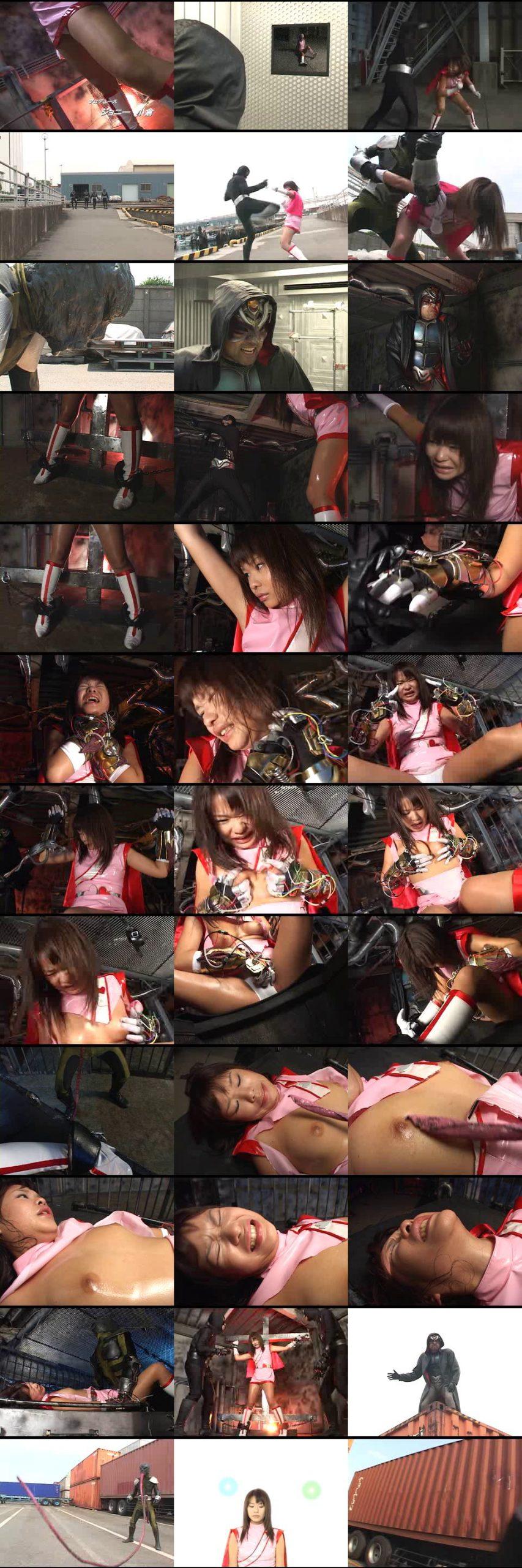 [THP-06] スーパーヒロイン危機一髪VOL.06 キューティーハート Mio Ando コスチューム  Sentai/Anime/Game ギガ GIGA(ギガ)