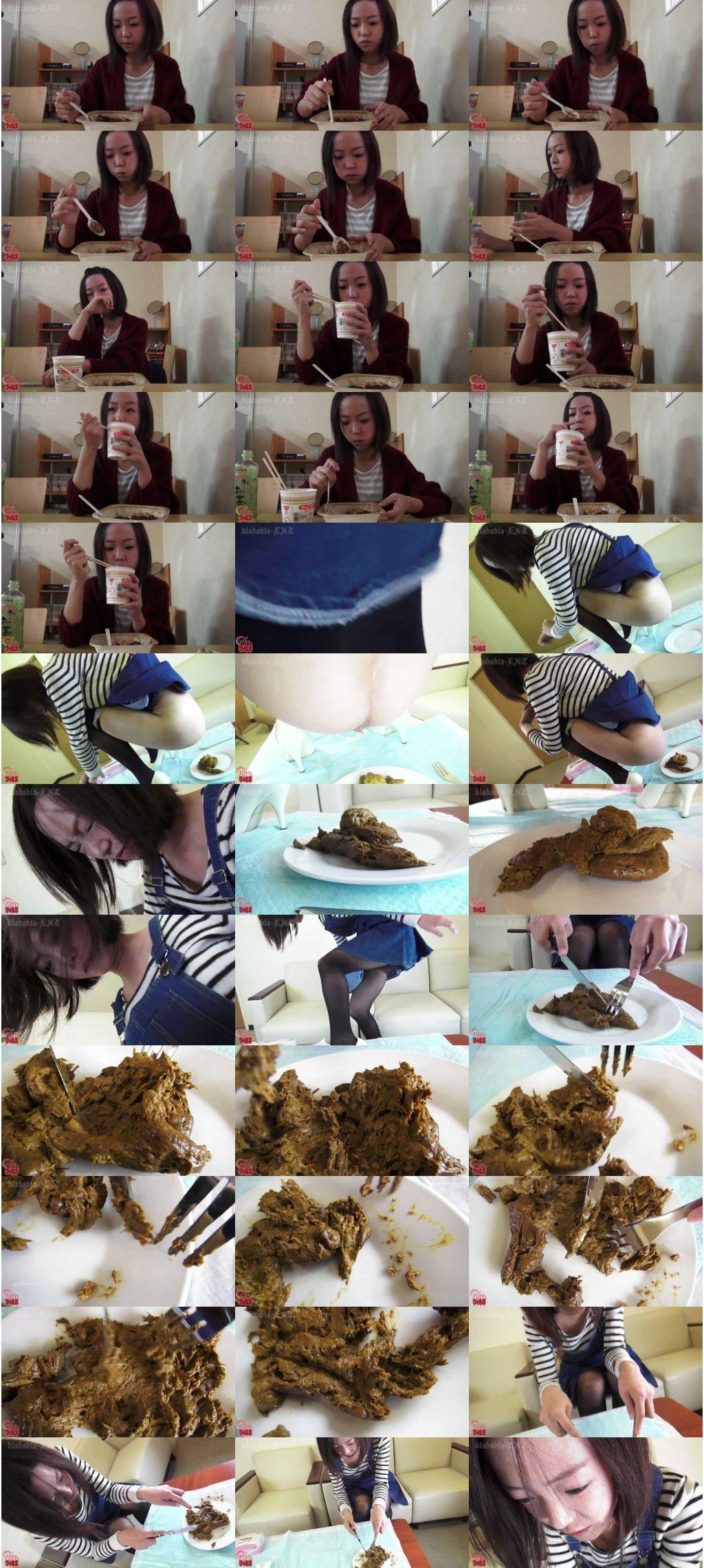 [FF-111] 彼女の食事とそのうんこ3 スカトロ Scat  ジェイド  defecation