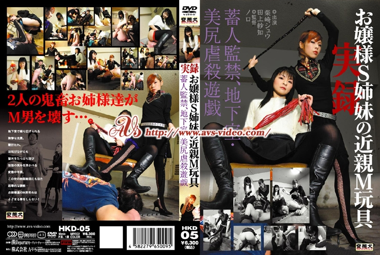 HKD 05 - [HKD-05] 高瀬りな 拘束 Indecent / collapse 監禁・拘束 Actress 高瀬りな Minamino Kotone